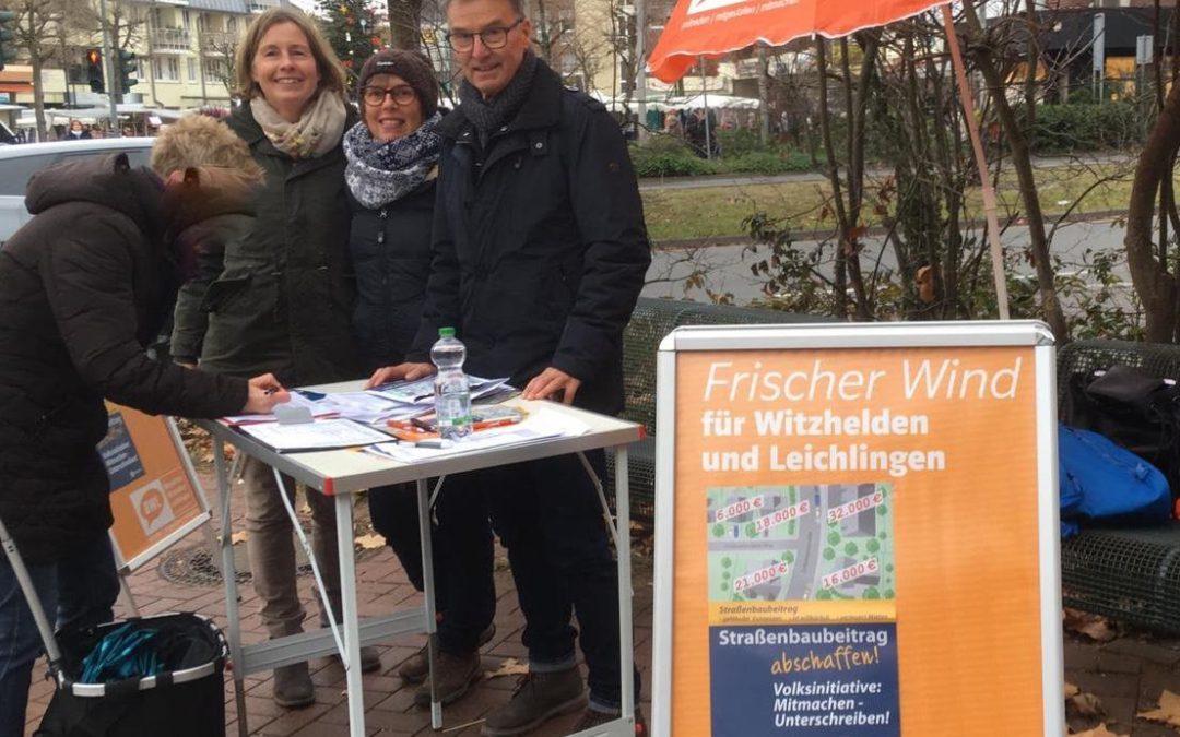 BWL unterstützt Volksinitiative