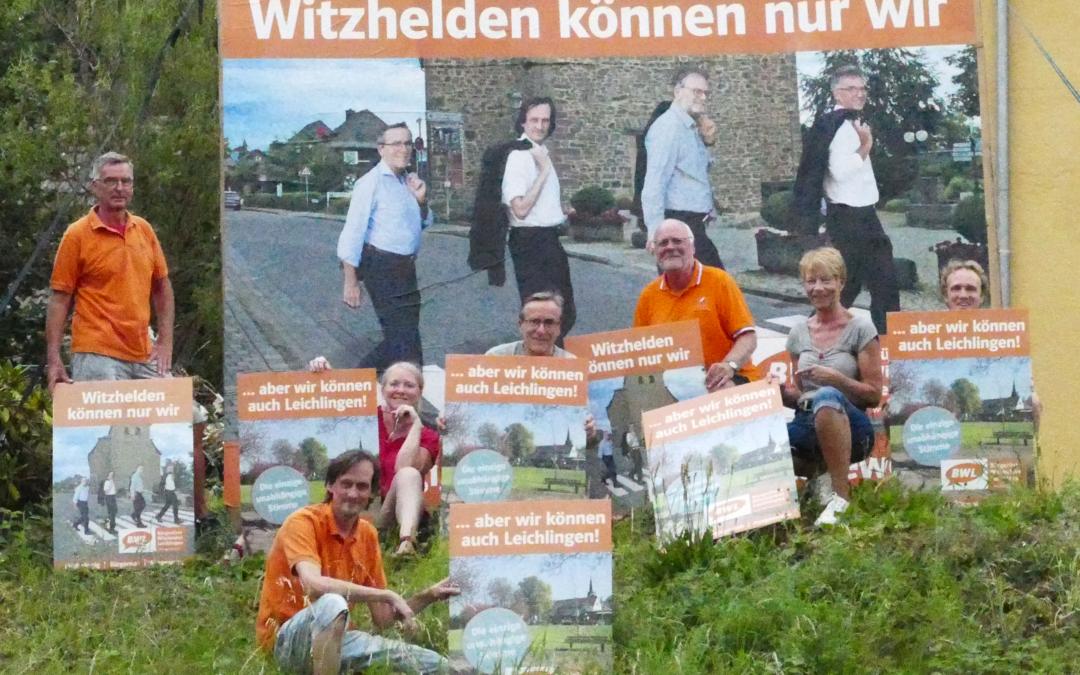 BWL Plakate zur Kommunalwahl 2020