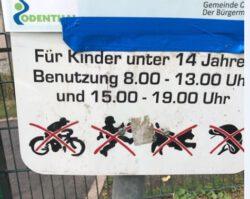 Jugendtreff Witzhelden/Spielplatznutzung
